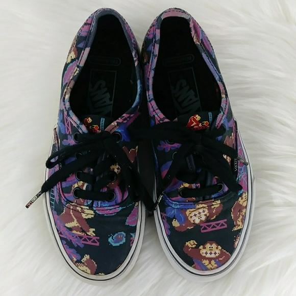 Vans Other - Vans Donkey Kong Nintendo Skate Shoes Sneakers